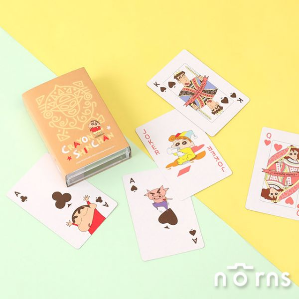 Norns 蠟筆小新 動感超人金卡撲克牌  Norns,蠟筆小新,動感超人,金卡,撲克牌,