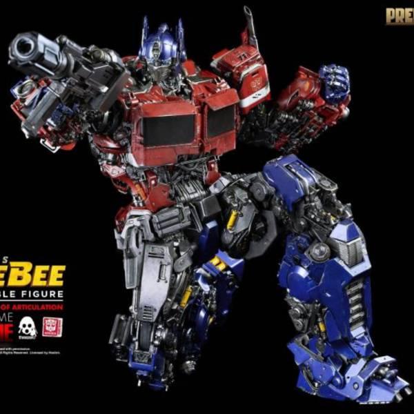 Threezero 柯博文 合金可動 變形金剛外傳《大黃蜂》電影版 Optimus Prime Threezero,變形金剛外傳大黃蜂,PREMIUM,柯柏文