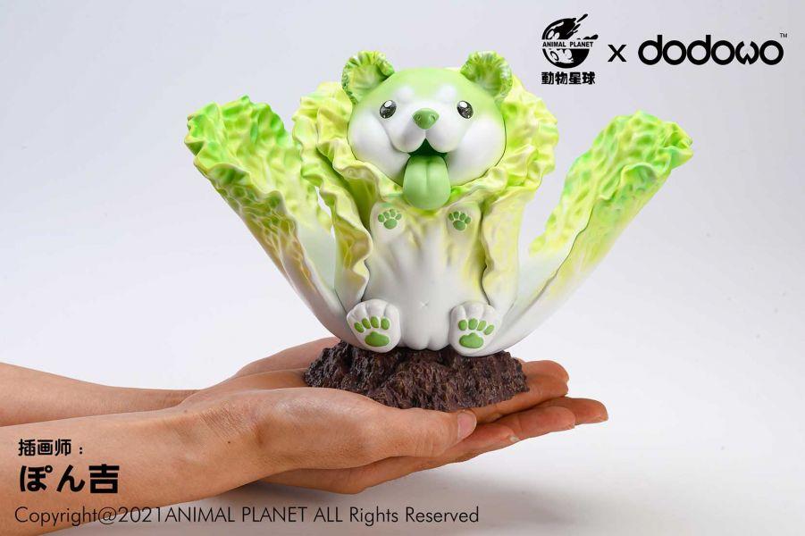 動物星球 野菜妖精 開花白菜犬 靜態完成品 動物星球,野菜妖精,開花白菜犬,靜態完成品,