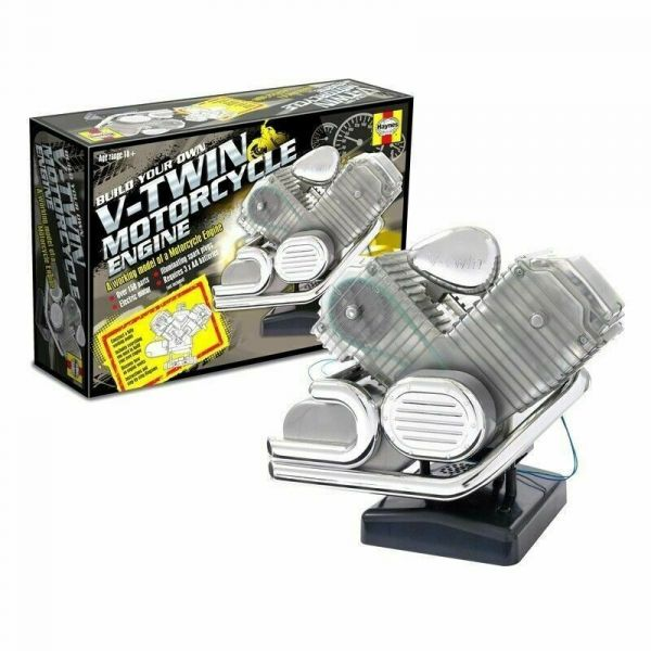 Haynes V2美式機車引擎模型 V-Twin Motorcycle Engine 組裝模型 Haynes,V2美式機車引擎模型,V-Twin Motorcycle Engine