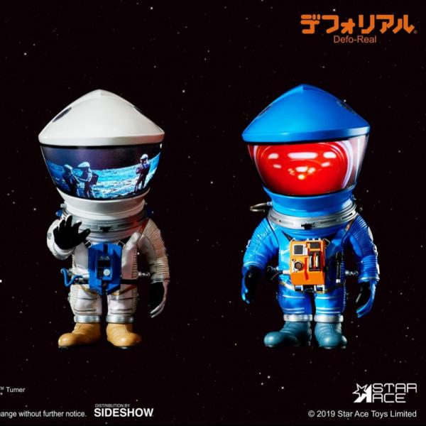 Star Ace Defo-Real 擬真變形系列  太空漫遊 宇航員 Discovery Astronaut 銀色&藍色2入組 Star Ace,Defo-Real,擬真變形系列,太空漫遊 宇航員,Discovery Astronaut