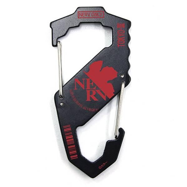 COSPA 新世紀福音戰士 NERV S型雙面鑰匙扣 COSPA,新世紀福音戰士,NERV,S型,鑰匙扣,