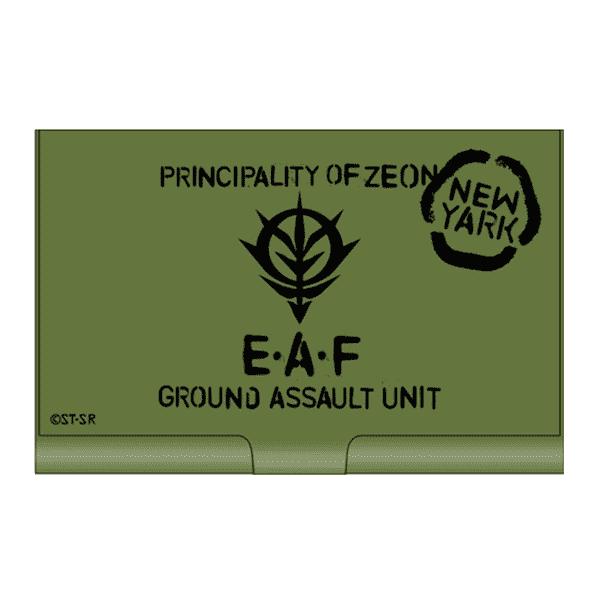 機動戰士鋼彈 吉翁地球方面軍 名片盒 機動戰士鋼彈 吉翁地球方面軍 名片盒