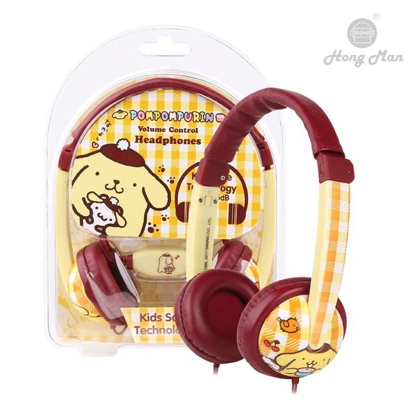 Hong Man 三麗鷗 耳罩式兒童耳機 布丁狗 Hong Man,三麗鷗,耳罩式,兒童耳機,布丁狗