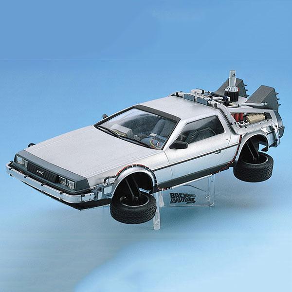 AOSHIMA 青島 1/24 回到未來 Back to the Future DeLorean II 續訂版 組裝模型 AOSHIMA,青島,1/24,回到未來,Back to the Future DeLorean II,續訂版