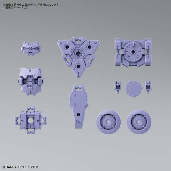 BANDAI 1/144 30MM #24  無人偵查用選配式裝甲 拉比歐用 紫色 BANDAI,1/144,30MM,#24,指揮官機用選配式裝甲,拉比歐,紫色