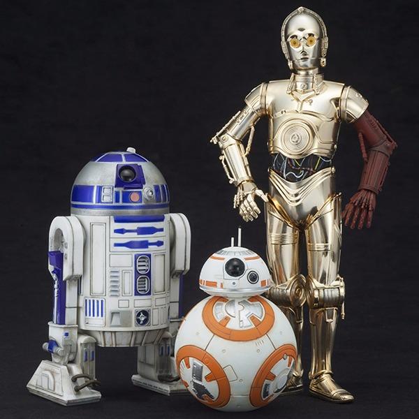 壽屋 ARTFX+ 1/10 星際大戰 R2-D2 & C-3PO &BB-8 KOTOBUKIYA   1/10, ARTFX+, KOTOBUKIYA, 1/10 ,星際大戰, R2-D2,C-3PO , BB-8