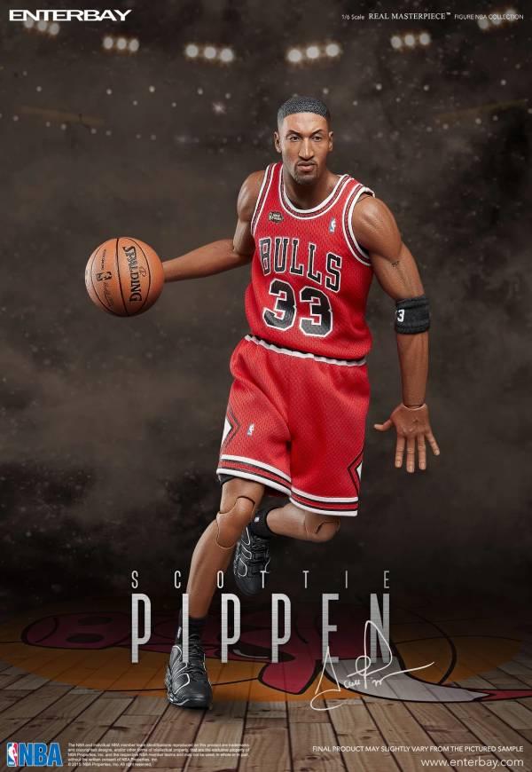 [限量預購] ENTERBAY 1/6 Scottie Pippen 史考提·皮朋 NBA 芝加哥公牛隊 天下第二人 ENTERBAY,1/6,Scottie Pippen,史考提·皮朋,NBA,芝加哥公牛隊,天下第二人