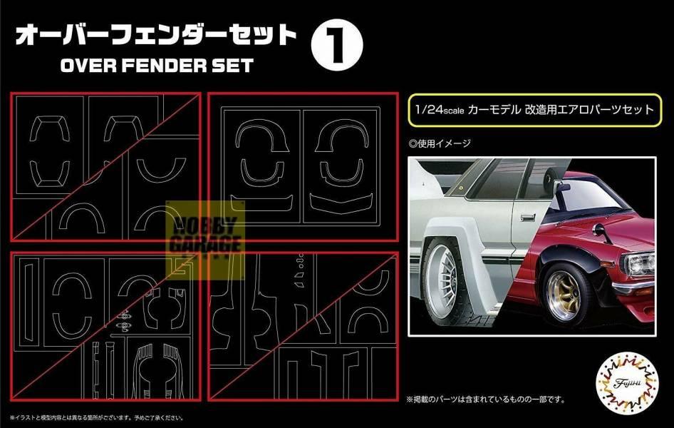 1/24 葉子版寬體套件1 FUJIMI GT31 富士美 組裝模型 FUJIMI,1/24,GT,車庫,GARAGE,人形,車內小物,葉子版,寬體,,