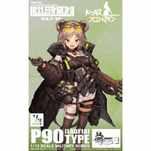 TOMYTEC 1/12 迷你武裝 LADF18 少女前線 P90型 組裝模型 TOMYTEC,1/12,迷你武裝,LADF18,少女前線,P90,型,組裝模型,