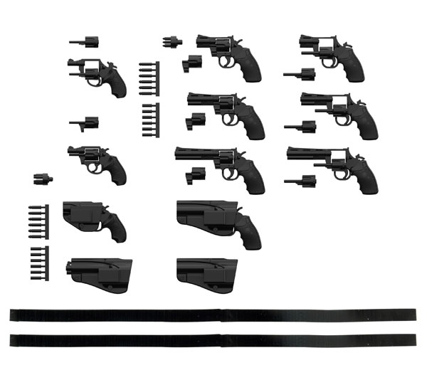 TOMYTEC 1/12 迷你武裝 LA074 左輪手槍 SET A 組裝模型 TOMYTEC,1/12,迷你武裝,LA074,左輪手槍,SET A,組裝模型,