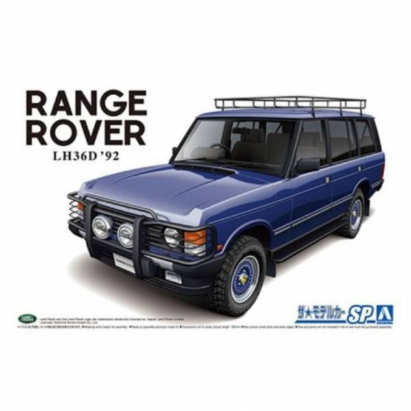 AOSHIMA 1/24 荒原路華 LH36D Rangerover classic custom '92 組裝模型 AOSHIMA,124,荒原路華,LH36D Rangerover classic custom 92