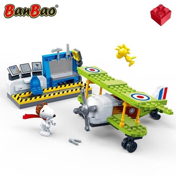BanBao 邦寶積木 史努比 王牌飛行員 205片 BanBao,邦寶積木,史努比,王牌飛行員 ,205片