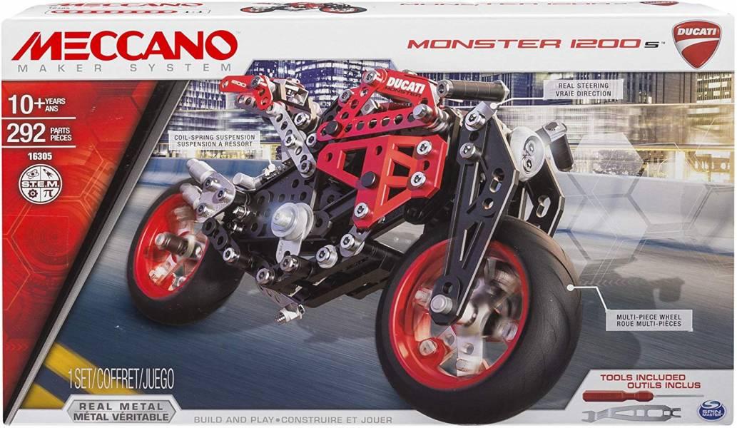 MECCANO 金屬建構 杜卡迪 Ducati重型檔車組  組裝模型 #6027038 MECCANO,金屬建構組裝模型,杜卡迪 Ducati,重型檔車組,#6027038