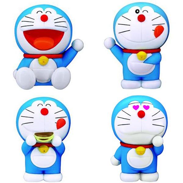 萬代BANDAI 哆啦A夢軟膠 小叮噹公仔 全4種 個別販售 BANDAI,哆啦A夢軟膠