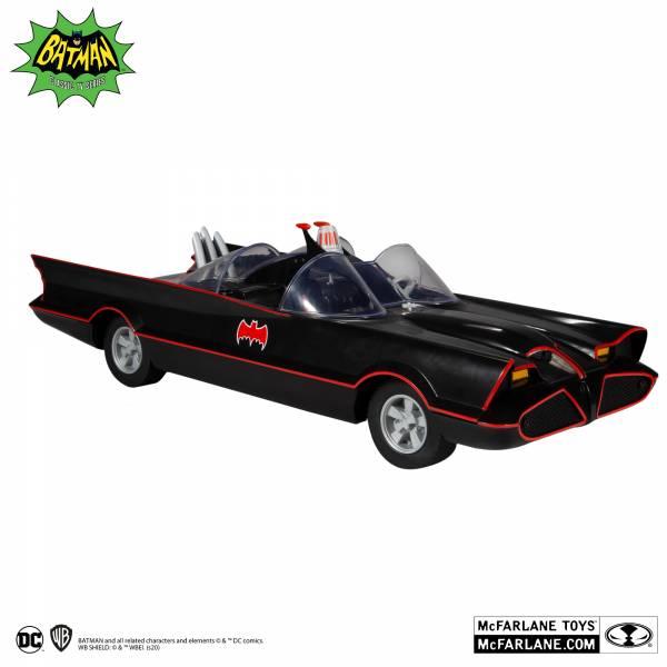 McFarlane Toys 麥法蘭 6吋 DC  RETRO 1966 蝙蝠車 可動完成品 McFarlane Toys,麥法蘭,6吋,DC, RETRO,1966,蝙蝠車  ,可動完成品,