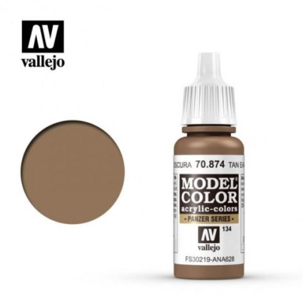 Acrylicos Vallejo AV水漆 模型色彩 Model Color 134 #70874 米白大地色 17ml Acrylicos Vallejo,AV水漆,模型色彩,Model Color,134, #,70874,米白大地色,17ml,