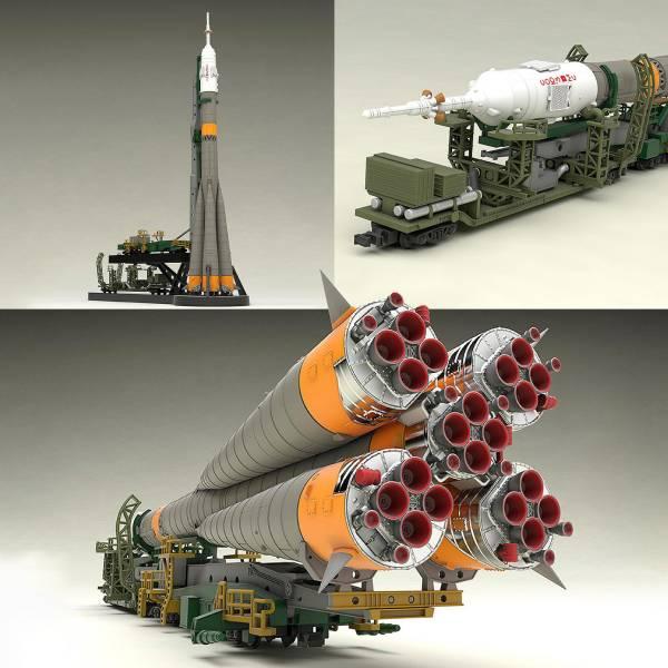 GOOD SMILE MODEROID 1/150 聯合號運載火箭 & 搬運列車 附衛星 精密彩色塑膠組裝模型 [再販],GOOD,SMILE,1/150,聯合號運載火箭,&,搬運列車,附衛星, 精密彩色塑膠,模型,MODEROID,