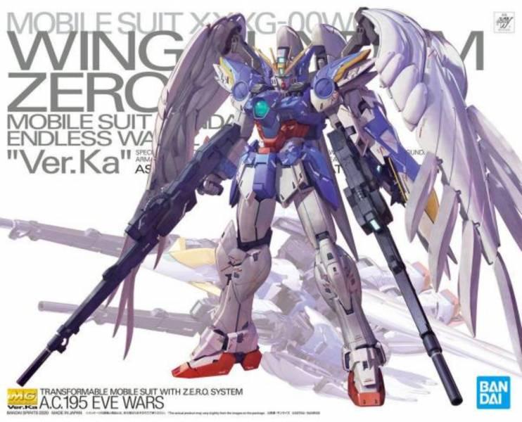 BANDAI MG 1/100 鋼彈W 天使鋼彈 飛翼零式鋼彈EW Ver.Ka BANDAI,萬代,MG,1/100,鋼彈W,天使鋼彈,飛翼零式鋼彈EW,Ver.Ka