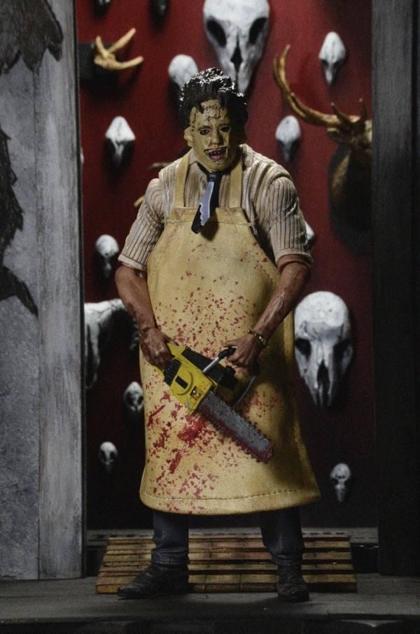 NECA 德州電鋸殺人狂 Texas Chainsaw massacre 終極面具版 7寸可動公仔  NECA,德州電鋸殺人狂,Texas Chainsaw massacre