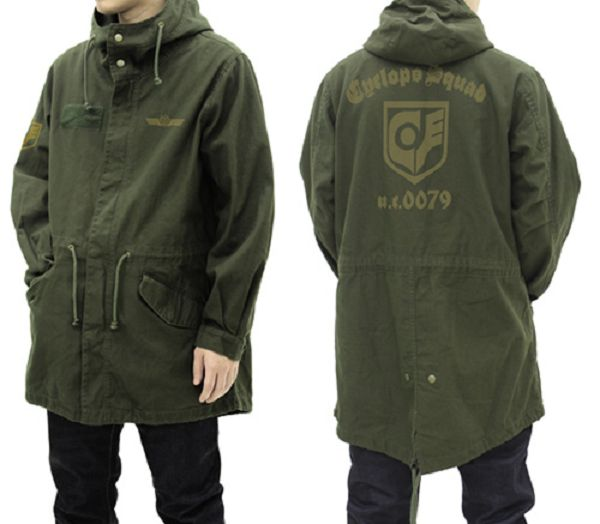 COSPA 鋼彈0080 口袋裡的戰爭 獨眼巨人小隊 M-51 軍裝外套 更新版 苔癬綠 COSPA,鋼彈0080,口袋裡的戰爭 / 獨眼巨人小隊,M-51,軍裝外套,更新版,苔癬綠