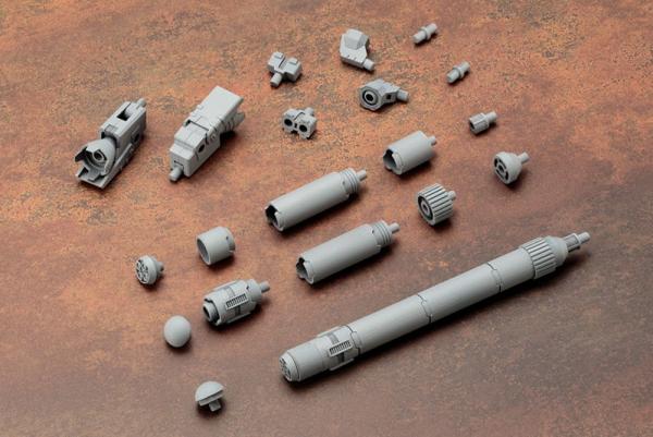 Kotobukiya 壽屋 M.S.G MJ04 推進器燃料槽 丸 Kotobukiya,MSG,擴充武裝零件,MJ04,推進器與燃料增槽組,圓型,丸型