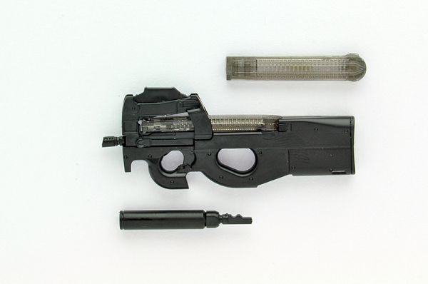 TOMYTEC 1/12 迷你武裝 LA039 P90 Type Tomytec ,1/12迷你武裝,衝鋒槍