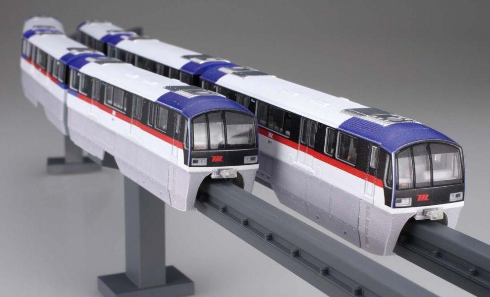 1/150 東京單軌電車 2000型 舊塗裝 六輛編成 FUJIMI STR17EX1 富士美 組裝模型 FUJIMI,STR,電車,1000型,20002000型,單軌,