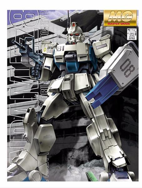BANDAI  1/100 MG RX-79[G] EZ-8鋼彈   ,1/100 ,MG ,RX-79