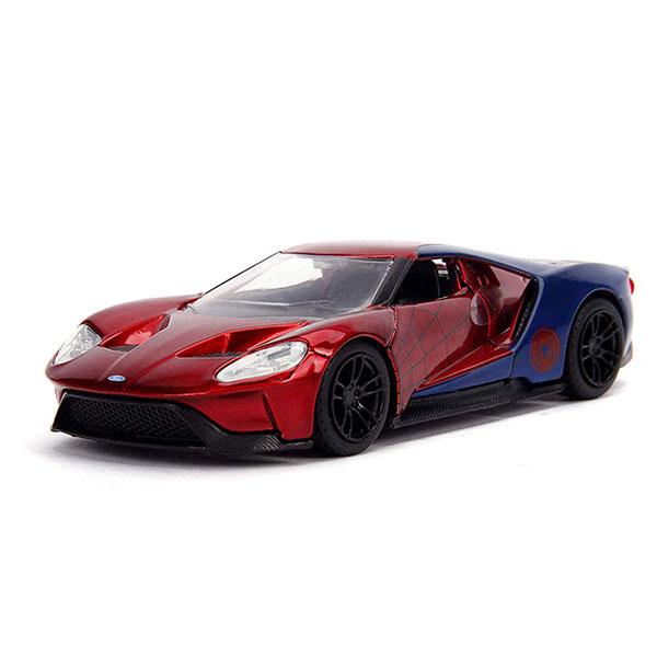 JADA 1/32 漫威MARVEL 蜘蛛人 Ford GT 2017 合金車 JADA,1/32,漫威MARVEL,蜘蛛人,Ford GT 2017,合金車