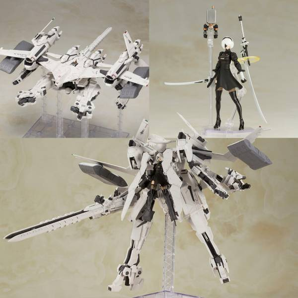 [再販] SQUARE ENIX 尼爾:自動人形 飛行裝置 Ho229 Type-B & 2B 組裝模型 SQUARE ENIX,Ho229,Type-B,尼爾,自動人形,寄葉2號B型,2B,飛行裝置