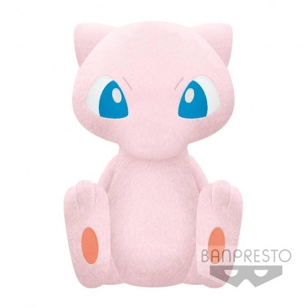 Banpresto / 景品 / 神奇寶貝 精靈寶可夢 / 夢幻 / 絨毛玩偶 / 40cm  Banpresto,景品,神奇寶貝,精靈寶可夢,夢幻,絨毛玩偶