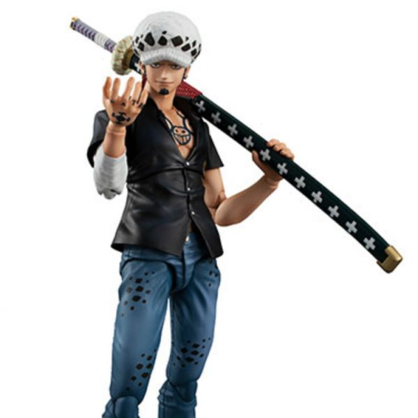 MegaHouse Variable Action Heroes 海賊王 托拉法爾加・羅 Ver.2 MegaHouse,VA Heroes,海賊王,托拉法爾加・羅 Ver.2