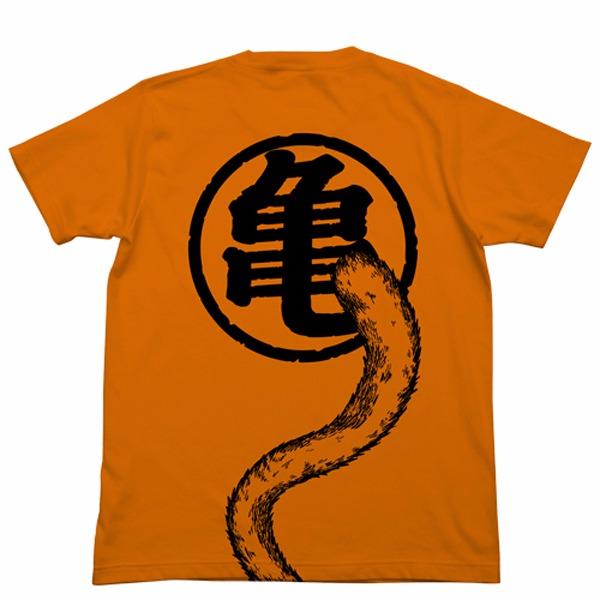 [再販] COSPA 七龍珠 悟空的尾巴 短袖T恤 橘色 七龍珠,悟空的尾巴,T恤,橘色