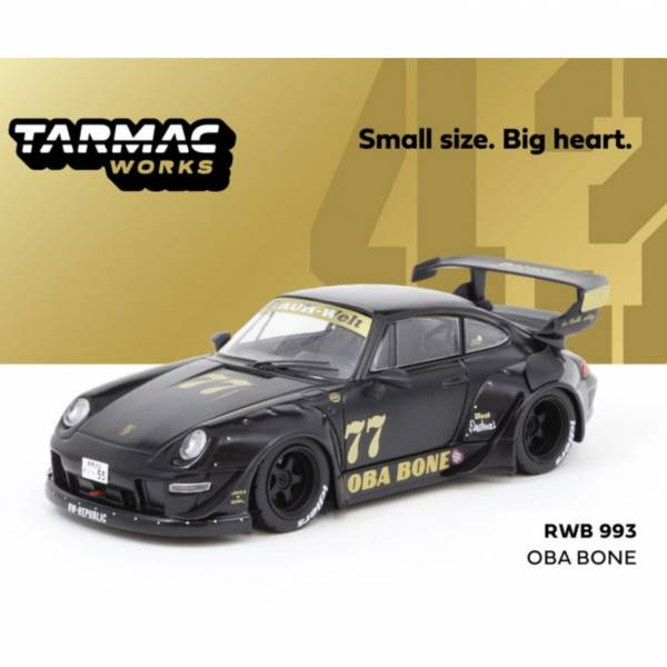 TRAMAC WORKS 1/43 保時捷Porsche RWB 993 Oba Bone 合金車 TRAMAC WORKS,1/43,保時捷,Porsche RWB 993 Oba Bone 合金車