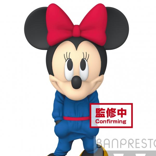 BANPRESTO 景品 迪士尼 米老鼠 時尚造型 米妮 藍色款 BANPRESTO,景品,迪士尼,米老鼠,時尚造型,米妮,藍色款