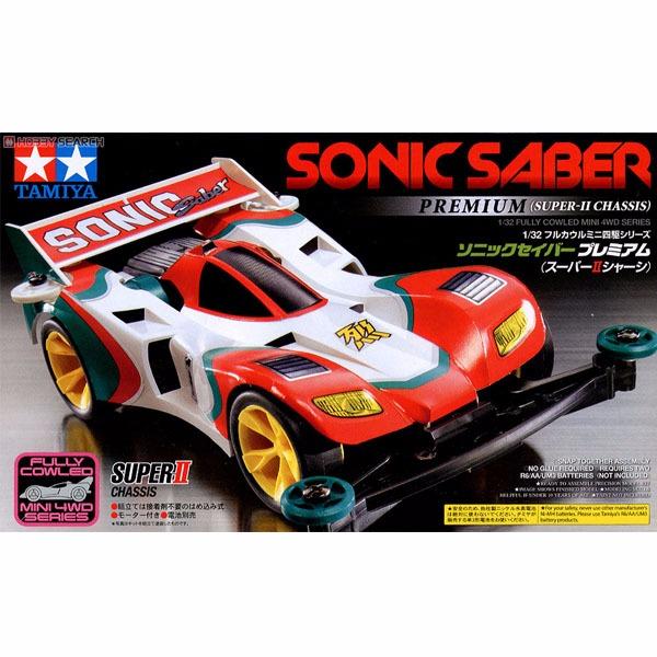 TAMIYA 田宮 1/32 迷你四驅車 #19432 音速戰神 Sonic Saber Premium SUPER II 底盤