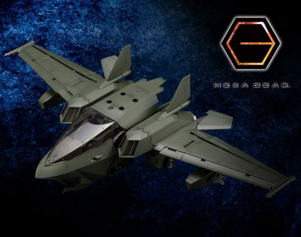 Kotobukiya 壽屋 1/24 六角機牙 支援擴展包005 戰機 深綠色 HG074 組裝模型 Kotobukiya,壽屋,1/24,六角機牙,支援擴展包,005,戰機,深綠色,HG074,組裝模型,