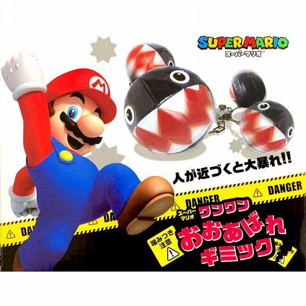 TAITO 超級瑪利歐 鐵球怪汪汪 聲控玩偶 景品 TAITO,景品,超級瑪利歐系列,鐵球怪汪汪,聲控玩偶