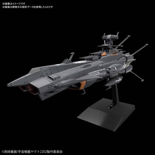 BANDAI 宇宙戰艦大和號 2202 自動無人戰鬥艦BBB 暗黑仙女座號 組裝模型 BANDAI,宇宙戰艦大和號 2202,自動無人戰鬥艦BBB,暗黑仙女座號