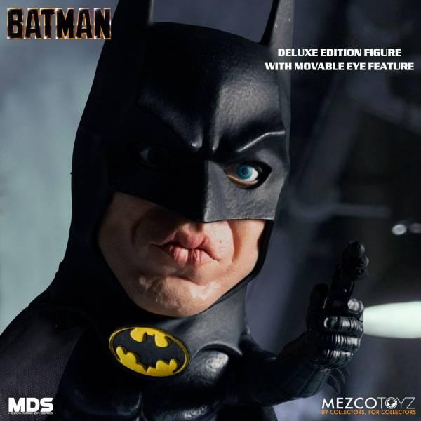 MEZCO TOYZ Designer Series DC 蝙蝠俠 1989 豪華版 可動人偶 Mezco Toyz,Designer Series,DC,蝙蝠俠1989