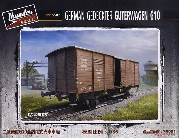 THUNDER MODEL 1/35 德軍 有蓋貨車 G10 THUNDER MODEL,1/35,德軍,有蓋貨車,G10
