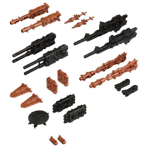TAKARA TOMY 機獸新世紀 ZOIDS 洛伊德 ZW40 改裝武器 高火力砲擊型套組 組裝模型 TAKARA TOMY,機獸新世紀,ZOIDS,洛伊德,ZW40,高火力砲擊型.改造套組