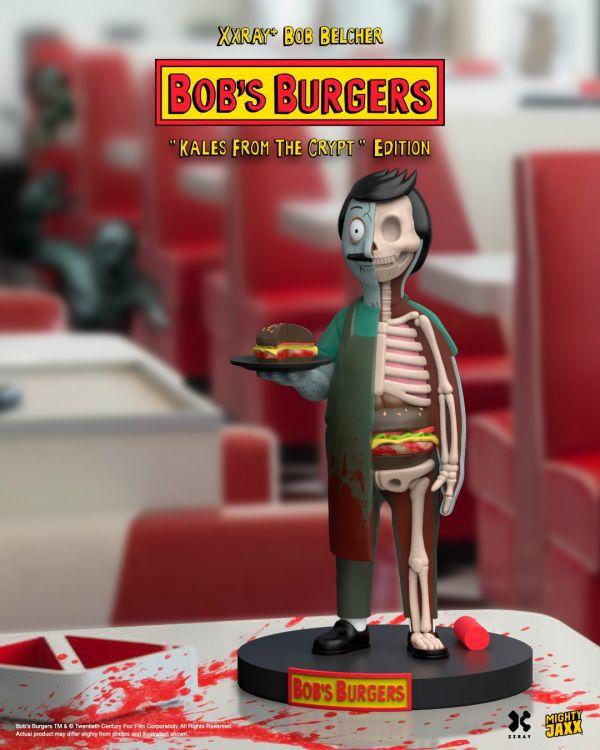 Mighty Jaxx XXRAY PLUS 開心漢堡店 鮑勃 殭屍版 BOB'S BURGER KALES FROM THE CRYPT EDITION  Mighty Jaxx,XXRAY PLUS,開心漢堡店,鮑勃,殭屍版,BOB'S BURGER KALES FROM THE CRYPT EDITION