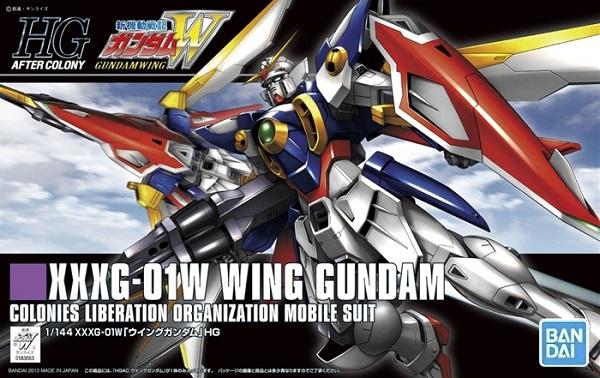 HGAC 1/144 #162 XXXG-01W 飛翼鋼彈 飛翼鋼彈