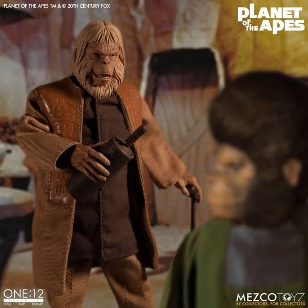MEZCO TOYZ 1/12 One: 12 Collective 浩劫餘生 1968 贊斯博士 可動公仔 Planet of the Apes 1968 Dr. Zaius MEZCO TOYZ,1/12,One: 12 Collective,浩劫餘生1968,贊斯博士,Planet of the Apes 1968 Dr. Zaius