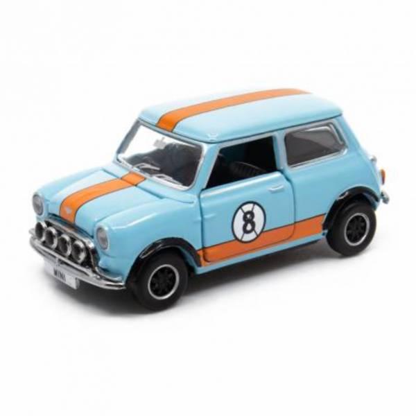 TINY Mini Cooper Racing #8 合金完成品 TINY,Mini Cooper Racing #8