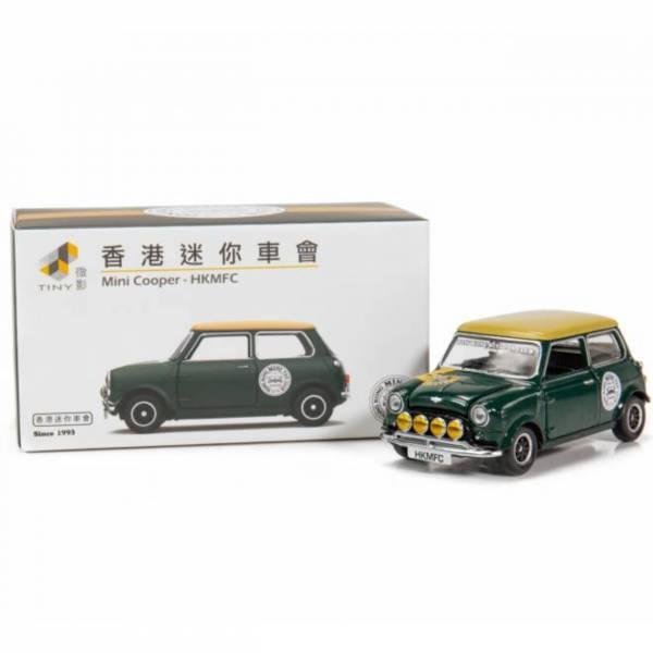 TINY Mini Cooper Mk1 香港粉絲俱樂部 綠色 合金完成品 TINY,1/64,Mini Cooper Mk1,香港粉絲俱樂部