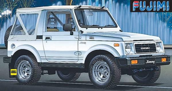 1/24 SUZUKI Jimny 1300 Custom 1986 FUJIMI ID70 富士美 組裝模型 FUJIMI,1/24,ID,SUZUKI,Jimny,1300,Custom,1986,