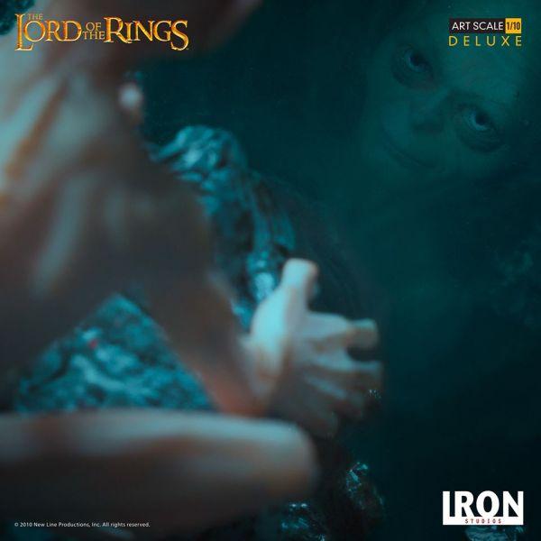 Iron Studio 1/10 魔戒 咕嚕 豪華版 雕像 Gollum Deluxe Art Lord of the Rings Iron Studio,1/20,魔戒,咕嚕,雕像,Gollum Deluxe Art Lord of the Rings